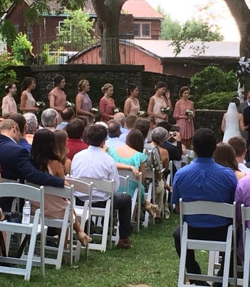 Martha Ashe Garden Ceremony - 2